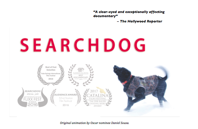 "Pro-Leash Products Make Film Debut in award-winning ""Search Dog"""
